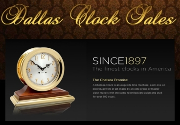 Chelsea Clocks Sales and Repair Dallas Texas